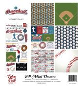 Echo Park Paper Company Baseball Collection Kit