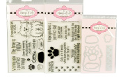 The Stamps of Life Clear Stamps & Dies, cat2stamp & sayings4cats with Cat dies