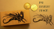 P92 Dragon rubber stamp