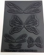 Flutter Wings Texture Stamp