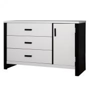 Dream On Me Cafeina 3 Drawer Dresser Combo, White