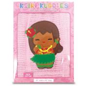 100% Cotton Baby Keiki Kuddles Blanket Island Yumi Aloha Pink