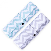 Nappy Changing Pad - Waterproof, Wipeable & Washable - Quilted Padding -