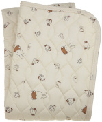 Bruna taking and Miffy quilt pad Brown