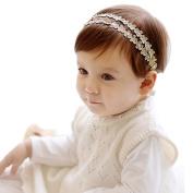 Susenstone Rhinestone Headband Hairband Baby Girls Flowers Headbands