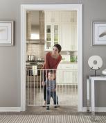Stork Craft Easy Walk-Thru Metal Safety Gate, White