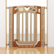 Japan childcare smart gate II plus Smart Gate 2 plus mounting width 67 ~ 91cm baby gate of (stairs on the 69 ~ 93cm) ~ depth 3 ~ casement, single open selection formula that can be used in height 91cm 5014046001 on the stairs