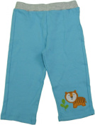 Happi by Dena Baby 12 Months Sweatpants with Tiger Blue & Grey