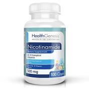 Health Genesis Nicotinamide 500 mg 100 caps