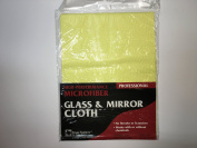 Glass & Mirror Microfiber Cloth - No Streaks, No Glass Cleaner Needed!