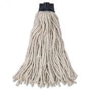 Rubbermaid Commercial RCP G043-00 RCPG04300 Replacement Mop Head for Mop/Handle Combo, Cotton