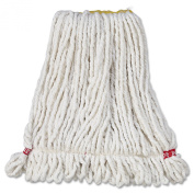 Rubbermaid Commercial RCP A211 WHI RCPA211WHI Web Foot Wet Mop Head, Shrink Less, Cotton/Synthetic