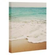 DENY Designs Bree Madden Ombre Beach Art Canvas, 20cm x 25cm