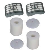 Kit for Shark Rotator Pro Lift-Away NV500 HEPA Filter & Foam Filter Kit, Fits Shark Rotator Pro Lift-Away NV500. Part # XHF500 & XFF5