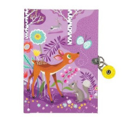 Forest Friends Locked Diary
