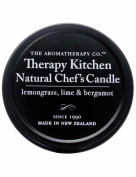 The Aromatherapy Co. Therapy Kitchen Range Lemongrass, Lime and Bergamot Chef's 32g Natural Candle