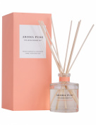 The Aromatherapy Co. Aroma Pure Peach Mango & Coconut Diffusion Set, 120ml