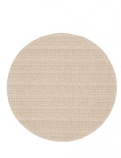 Haven Table Round Weave PVC Placemat, Natural