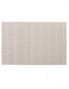 Haven Vinyl Placemats Small Weave, Champagne