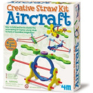 4M Creative Straw Kit Aircraft