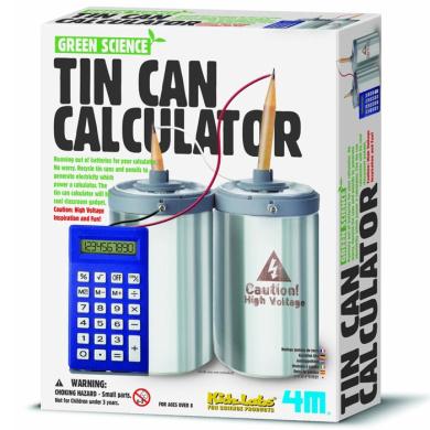 4M Tin Can Calculator