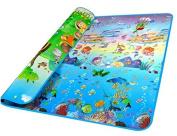 Extra Large Thickness Baby Crawling Mat Baby Crawling Pad/Game Mat Ocean Pattern