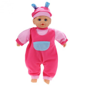 Arshiner Toddler Girls Pretend Play Soft Nurturing First 33cm Baby Doll With Clothing