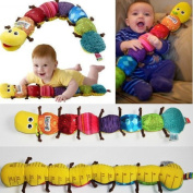 Soft Popular and Colourful Musical Inchworm Lovely Developmental Child Baby Toy
