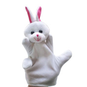 Gotd Baby Child RABBIT Zoo Farm Animal Hand Glove Puppet Finger Sack Plush Toys