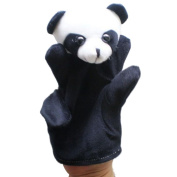 Gotd Baby Child Panda Zoo Farm Animal Hand Glove Puppet Finger Sack Plush Toys