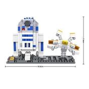 LOZ Star Wars Diamond Nano-Block(mini blocks) 2 pc set- R2D2 & Fighter with BOX!