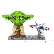 LOZ Star Wars Diamond Nano-Block(mini blocks) 2 pc set - Yoda & Fighter with Box!
