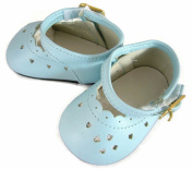 Light Blue Mary Jane Shoes for Bitty Baby Dolls