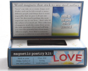 Magnetic Poetry - Love Kit - Words for Refrigerator - Write Poems and Letters on the Fridge