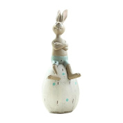 Miz Home Resin Rabbit PiggyMoney Bank Toy Gift for Kid