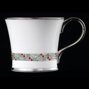 Christmas Delight Chain Coffee Mug Decorated With. Crystals