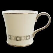 Prouna Bone China Cube Chain Coffee Mug Decorated with. Crystals