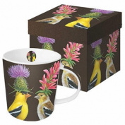Bone China Goldfinch Mug 400ml - Gift Boxed