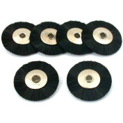 6 Stiff Hair Wheel Brush Jewellers Polishing fits For For For For For For For For Dremel