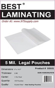 Best Laminating® - 5 Mil Clear Legal Size Thermal Laminating Pouches - 9 X 14.5 - Qty 100