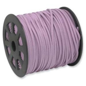 PURPLE Faux Leather Suede Necklace Cord 90m Ultra Microfiber