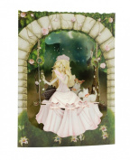 Santoro 3D Swing Greeting Card, Princess on A Swing