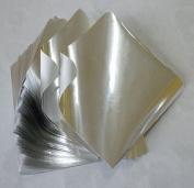 Foil Origami Paper- Silver 8.9cm Square 100 Sheets