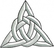 Celtic Triangle Bevel Cluster