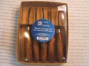 U J Ramelson 110 Wood Carving Set set of 5