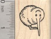 Kiwi Rubber Stamp, Flightless Bird of New Zealand