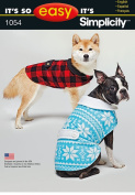 Simplicity Creative Patterns US1054A Its So Easy Dog Coat, Size A