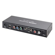 IO Crest SY-ADA31057 HDMI Signal to Component or VGA Out with Digital SPDIF & Analogue Audio Output