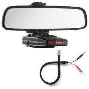 Mirror Mount Radar Detector Bracket + Mirror Wire Cord - Escort 9500ix, Redline