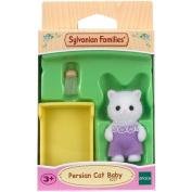Sylvanian Families Persian Cat Baby Doll